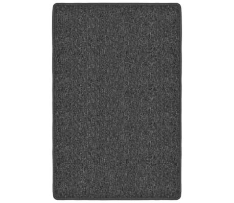 vidaXL Preproga taftana 120x180 cm antracit