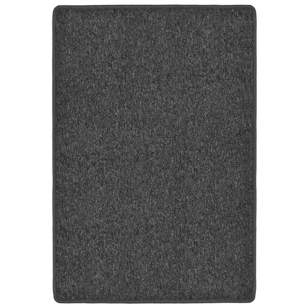 vidaXL Všívaný koberec 160 x 230 cm antracitový