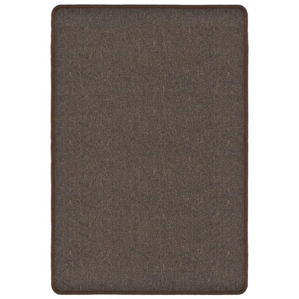 vidaXL Všívaný koberec 160 x 230 cm hnědý
