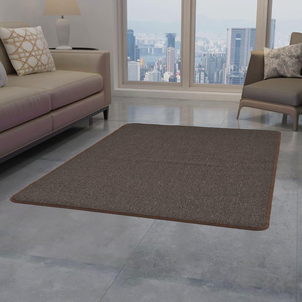 999132741 Teppich Getuftet 160 x 230 cm Braun