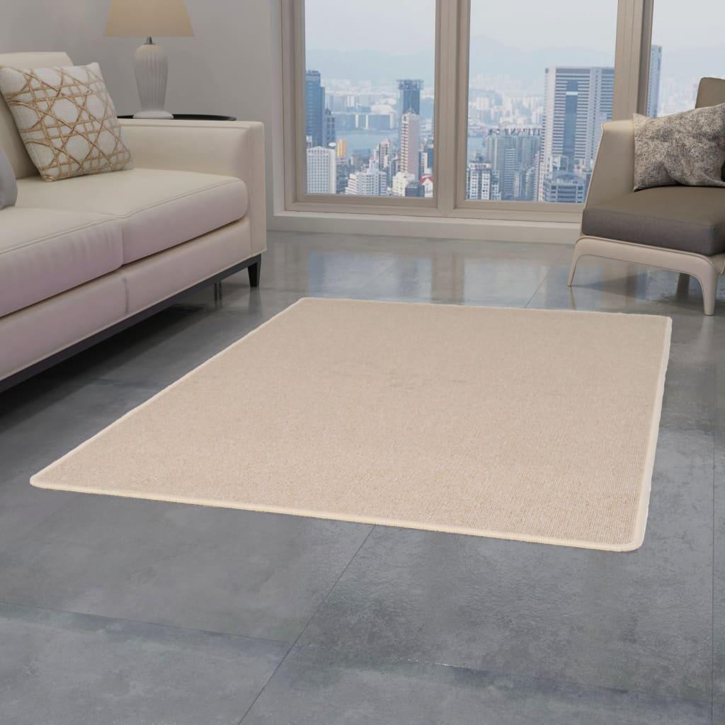 999132744 Teppich Getuftet 120 x 180 cm Beige