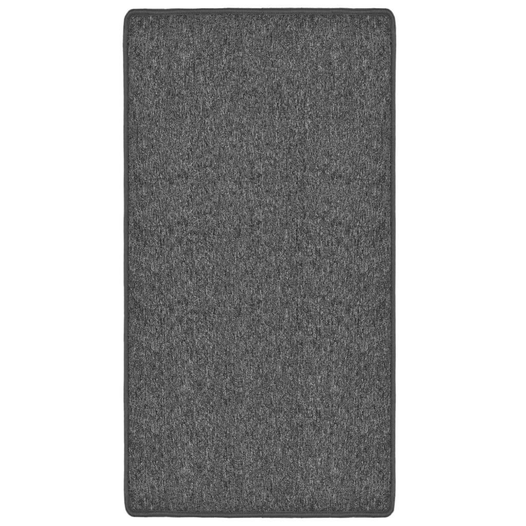 vidaXL Všívaný koberec 120 x 180 cm šedý