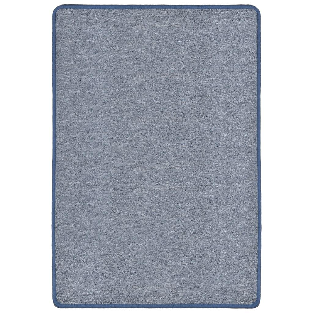 vidaXL Všívaný koberec 160 x 230 cm modrý