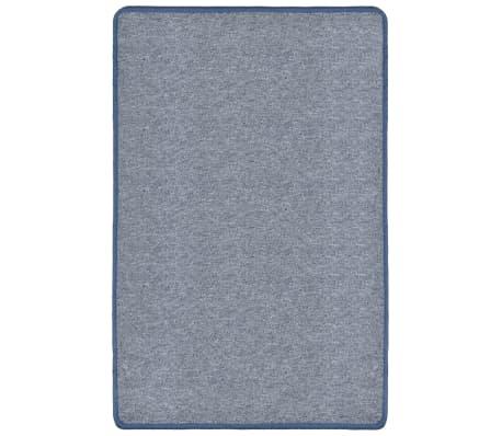 vidaXL Dywan tuftowany, 190 x 290 cm, niebieski[2/6]