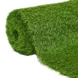 vidaXL Iarbă artificială 1 x 5 m/40 mm, verde