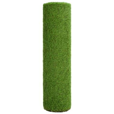 vidaXL Iarbă artificială 1 x 10 m/40 mm, verde[3/3]