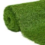 vidaXL Umělá tráva 1 x 15 m / 40 mm, zelená
