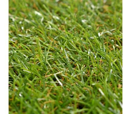 vidaXL Плочки изкуствена трева, 10 бр, 30x30 см, зелени[4/5]