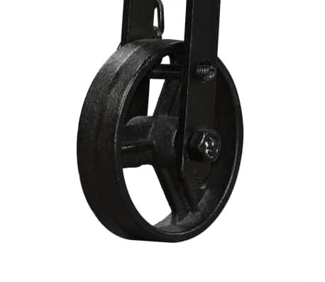 vidaXL Lova su Memory čiužiniu, tvirta mango mediena, 140x200cm[11/21]