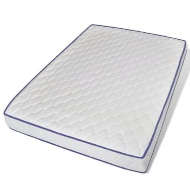 vidaXL Lova su Memory čiužiniu, tvirta mango mediena, 140x200cm[13/21]