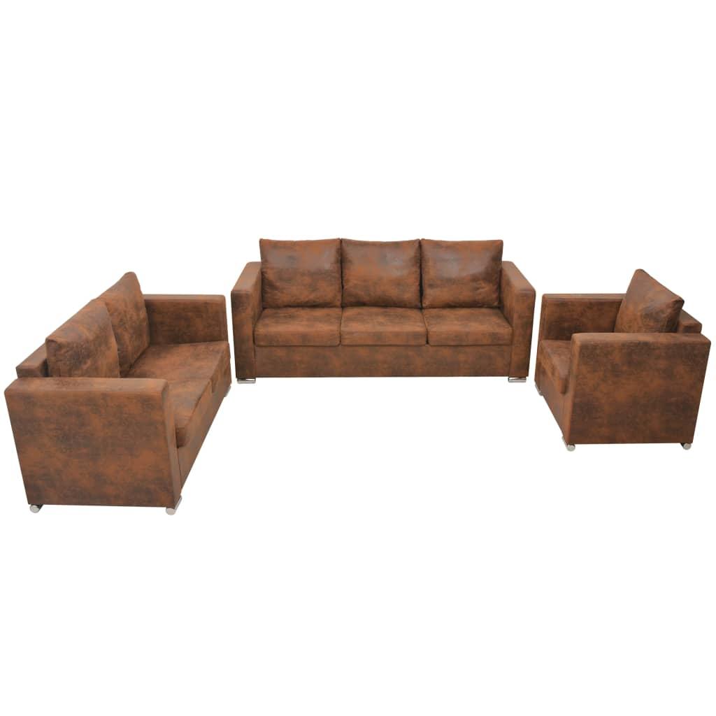 Canapé Cuir Moderne Confort