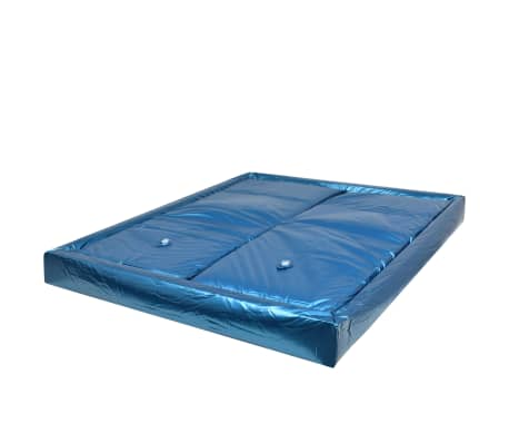 vidaXL Wasserbettmatratzen-Set mit Einlage + Trennwand 160 x 200 cm F3[2/7]