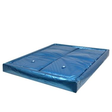 vidaXL Vandens lovos čiužinio kompl. su įdėklu ir pertv., 160x200cm[2/7]