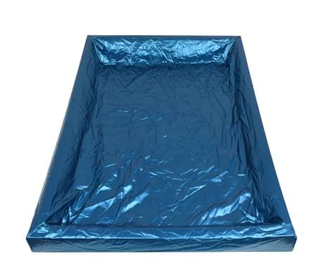 vidaXL Vandens lovos čiužinio kompl. su įdėklu ir pertv., 160x200cm[5/7]