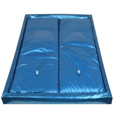 vidaXL Vandens lovos čiužinio kompl. su įdėklu ir pertv., 160x200cm[3/7]