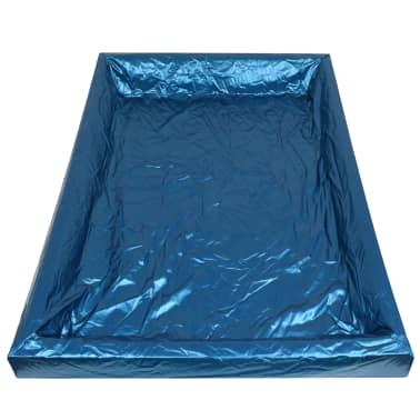 vidaXL Wasserbettmatratzen-Set mit Einlage + Trennwand 160 x 200 cm F3[5/7]