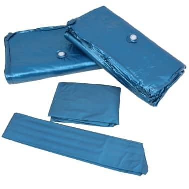 vidaXL Vandens lovos čiužinio kompl. su įdėklu ir pertv., 160x200cm[6/7]