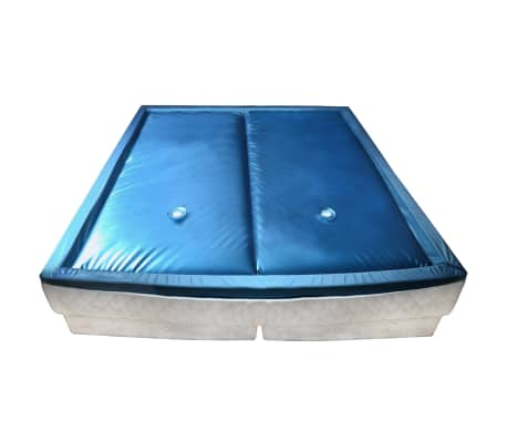 vidaXL Vandens lovos čiužinio kompl. su įdėklu ir pertv., 160x200cm[1/7]