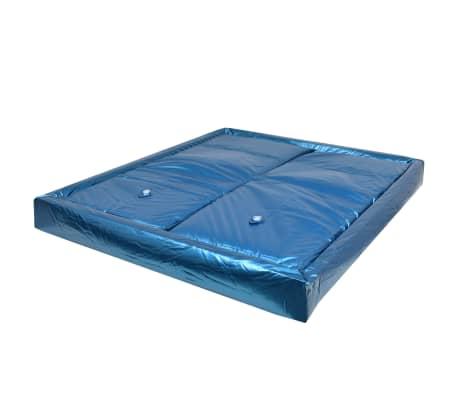 vidaXL Materasso ad Acqua con Fodera e Divisorio 200x200 cm F3
