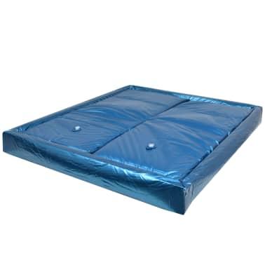 vidaXL Vandens lovos čiužinio kompl. su įdėklu ir pertv., 200x200cm[2/7]