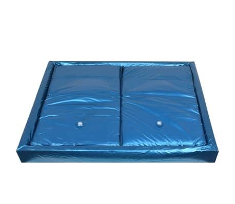 vidaXL Matelas à eau avec doublure et séparateur 200 x 200 cm F3[3/7]