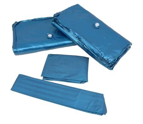 vidaXL Vandens lovos čiužinio kompl. su įdėklu ir pertv., 200x200cm[6/7]