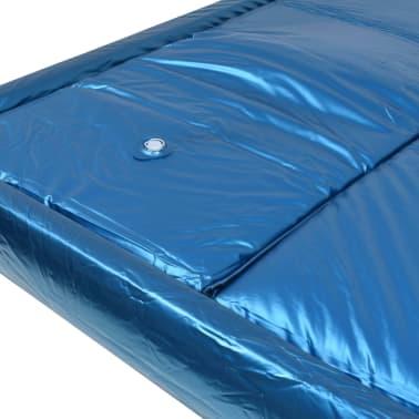 vidaXL Vandens lovos čiužinio kompl. su įdėklu ir pertv., 200x200cm[4/7]