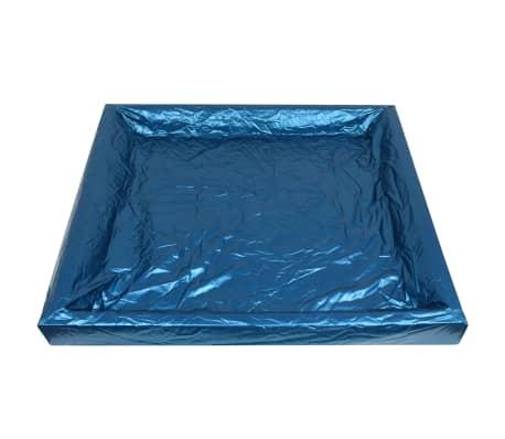 vidaXL Matelas à eau avec doublure et séparateur 200 x 200 cm F5[5/7]