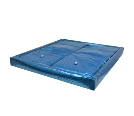 vidaXL Waterbed Mattress Set with Liner and Divider 200x220 cm F3