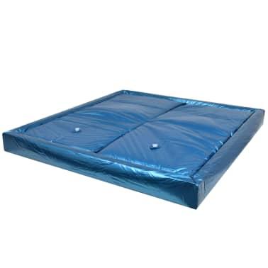 vidaXL Wasserbettmatratzen-Set mit Einlage + Trennwand 200 x 220 cm F5[2/7]