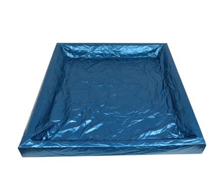 vidaXL Wasserbettmatratzen-Set mit Einlage + Trennwand 200 x 220 cm F5[5/7]