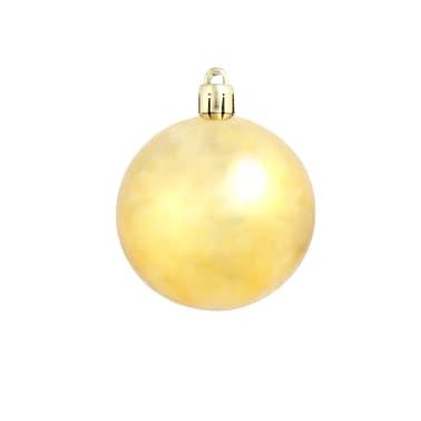 vidaXL 100-tlg. Weihnachtskugel-Set 6 cm Golden[5/11]