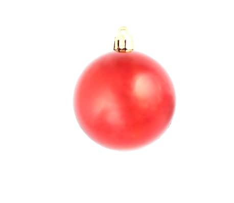 vidaXL julekuglesæt 100 stk. 6 cm rød[7/11]