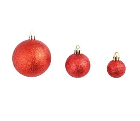 vidaXL julekuglesæt 100 stk. 6 cm rød[8/11]