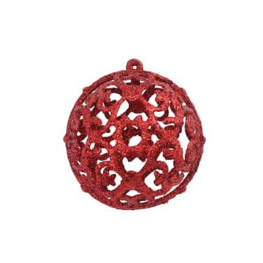 vidaXL julekuglesæt 100 stk. 6 cm rød[3/11]