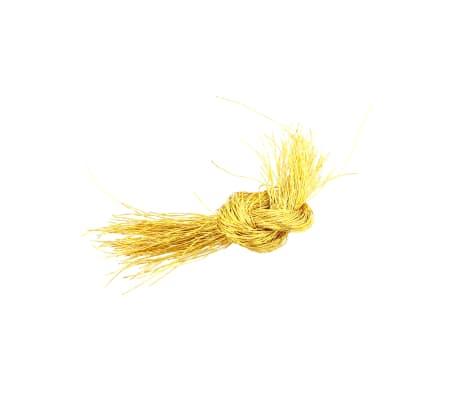 vidaXL Set globuri de Crăciun 113 piese, 6 cm Roșu[12/13]
