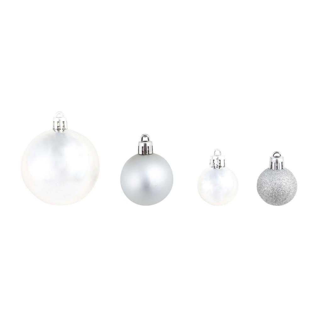 100 ks vánoční baňky stříbrné/zlaté