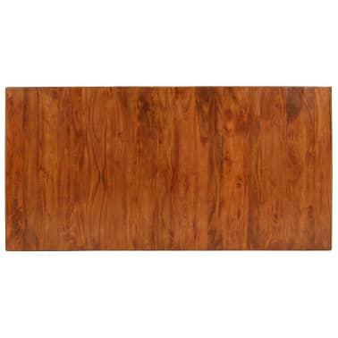 vidaXL Jídelní stůl masivní dřevo s sheeshamovým povrchem 180x90x76 cm[3/12]