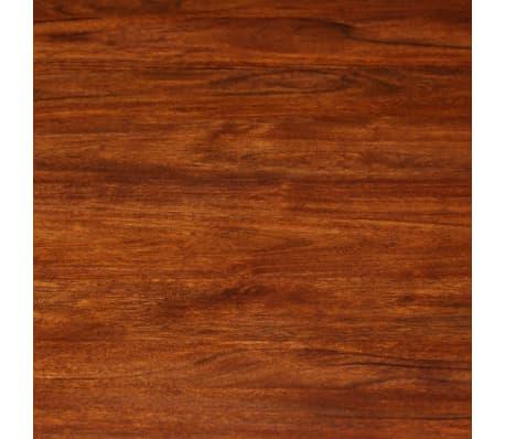 vidaXL Jídelní stůl masivní akáciové dřevo sheeshamový povrch 120x76cm[4/12]