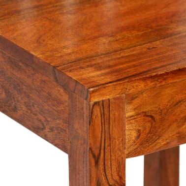 vidaXL Dining Chairs 2 pcs Solid Wood with Sheesham Finish Modern[5/10]