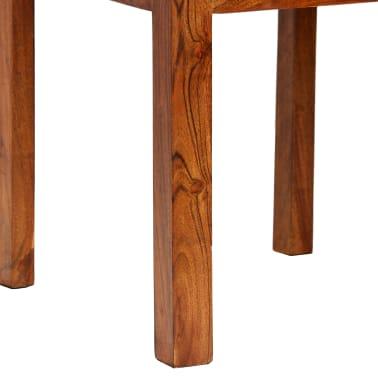 vidaXL Dining Chairs 2 pcs Solid Wood with Sheesham Finish Modern[6/10]