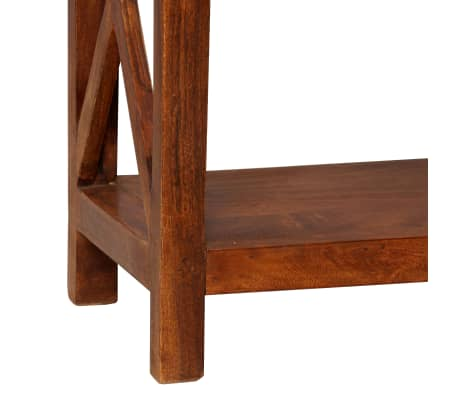 "vidaXL Bookshelf Solid Acacia Wood Sheesham Finish 23.6""x11.8""x63.0""[8/13]"