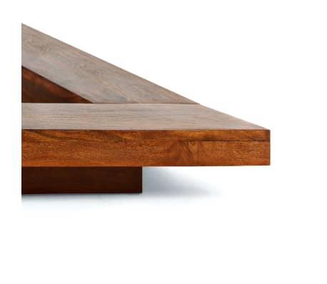 vidaXL Bettgestell Japanischer Stil Futon Massivholz Sheesham 1,6x2m[3/7]