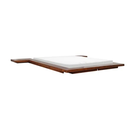 vidaXL Bettgestell Japanischer Stil Futon Massivholz Sheesham 1,6x2m[5/7]