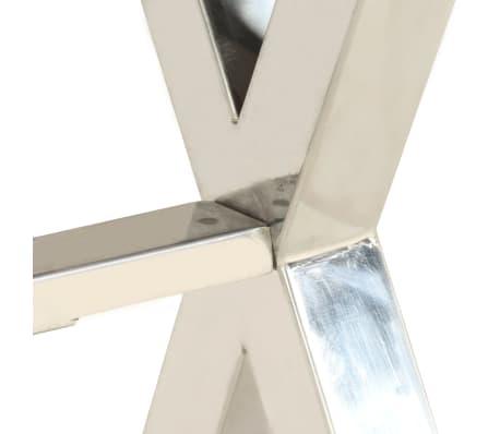 vidaXL Bureau Bois d'acacia et finition en sesham 110x50x76 cm[8/13]