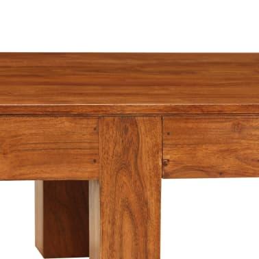 vidaXL Kavos staliukas, 100x50x30cm, akac. med. mas., raus. dalb. apd.[5/11]