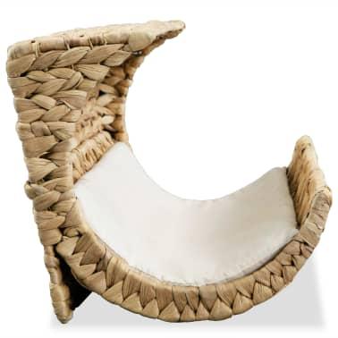 vidaXL Mačja postelja z blazino vodna hijacinta 37x20x20 cm[4/6]