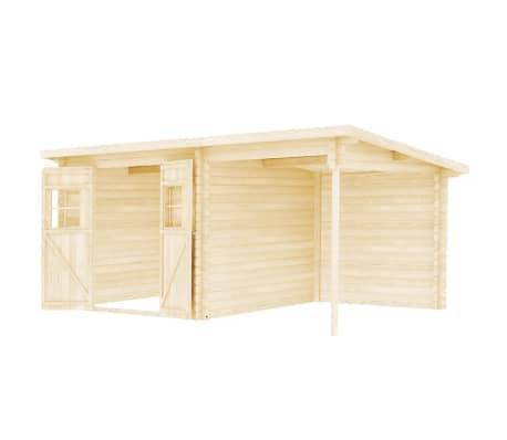 vidaXL Tuinhuis 5,3x3 m 28 mm massief hout[3/10]