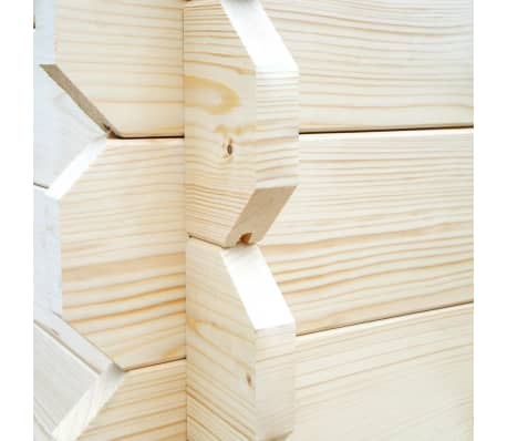 vidaXL Tuinhuis 5,3x3 m 28 mm massief hout[9/10]