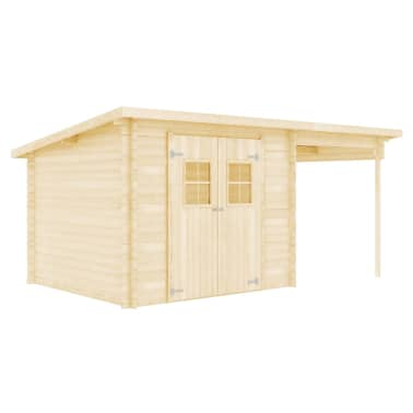 vidaXL Tuinhuis 5,3x3 m 28 mm massief hout[5/10]